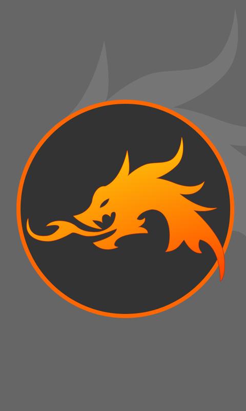 Unique Flaming Dragon