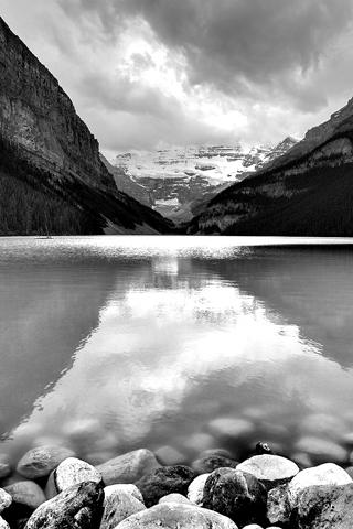 Lakes And Ponds Black Skies Turn Bright