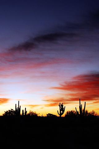 Sunset Goodbye Arizona