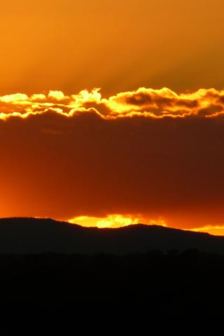 Sunset Grampian Sunset