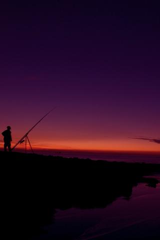 Sunset Lone Sunset
