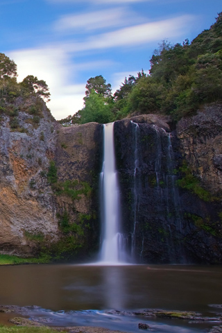 Waterfall Hunua Falls