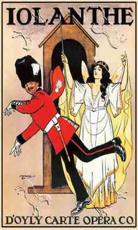 Opera Gilbern And Sullivan Iolanthe