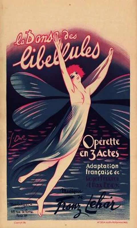 Opera La Danse Des Libellules C1926 First C10098503