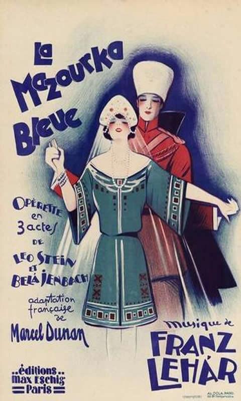 Opera La Mazourka Bleue C1930 First C10098528