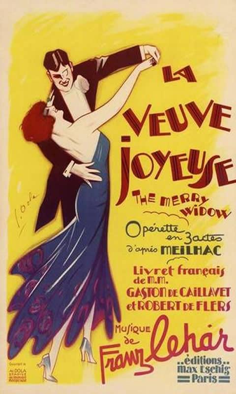 Opera La Veuve Joyeuse 1936
