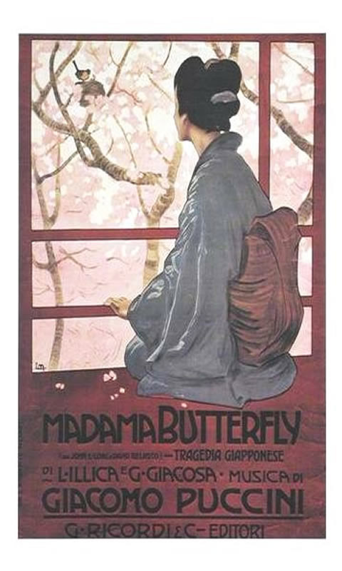 Opera Puccini Madame Butterfly