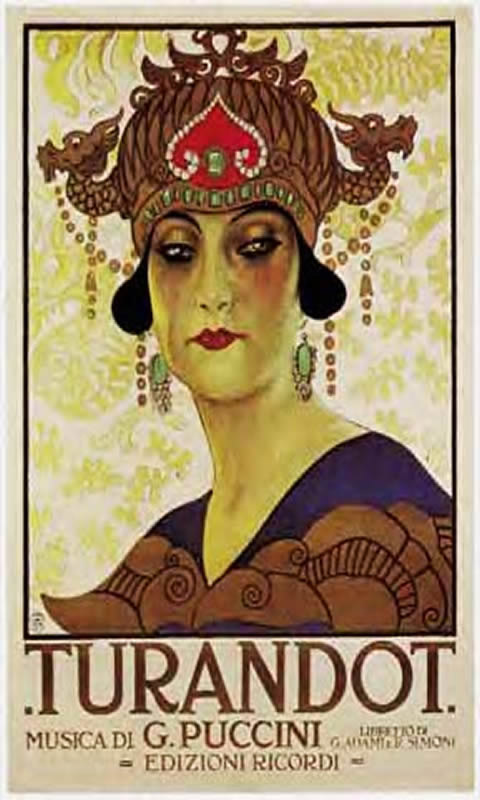 Opera Puccini Turandot