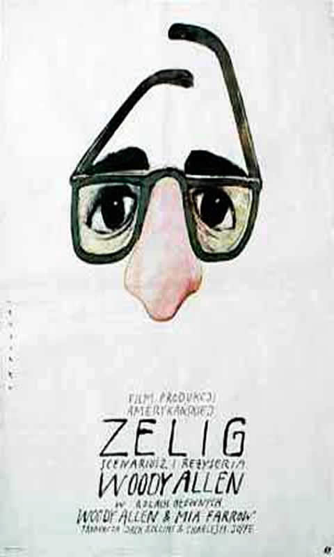 Surreal Woody Allen Zelig