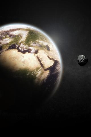 Planets Earth Moon