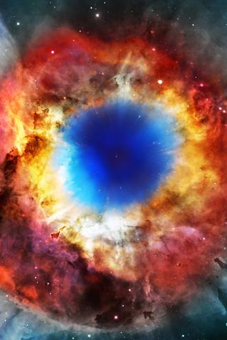 Space Helix Nebula X