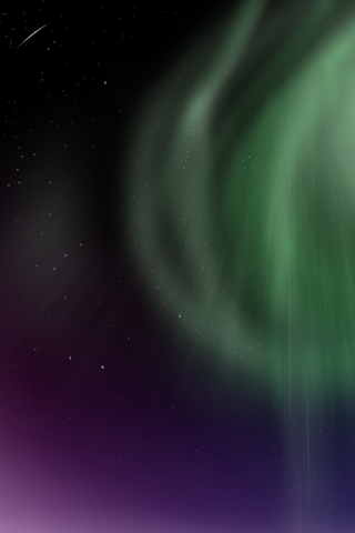 Space Polar Light