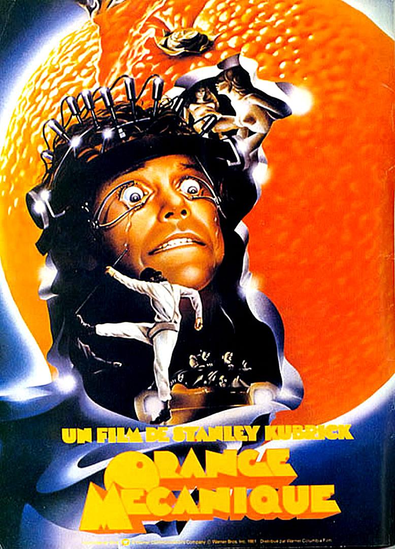 Clockwork Orange 2 Classic Movie Poster