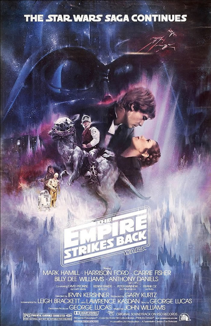 Star Wars The Empire Strikes Back Classic Movie Poster