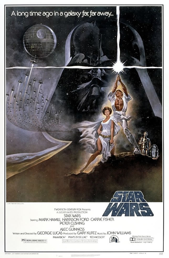 Star Wars Classic Movie Poster