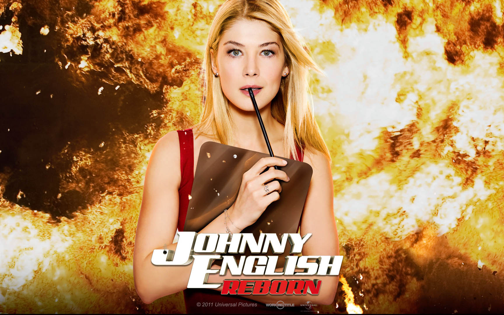 Comedy Johnny English Reborn Girl 1