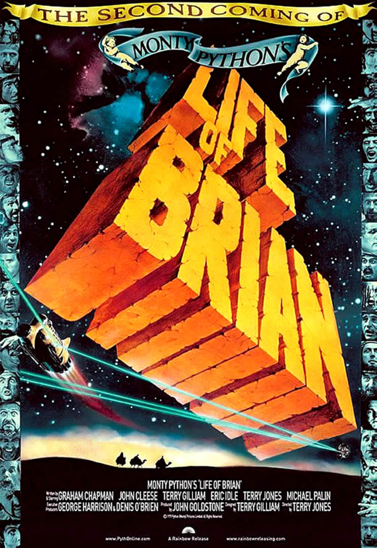 Comedy Life Of Brian Re Release 2004