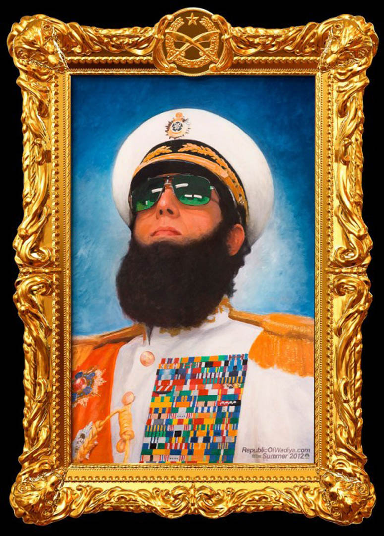 Comedy The Dictator