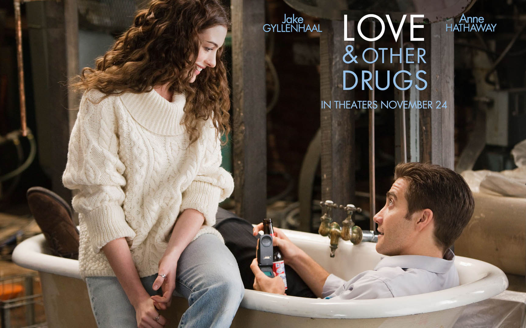 Romantic Anne Hathaway In Love And Other Drugs