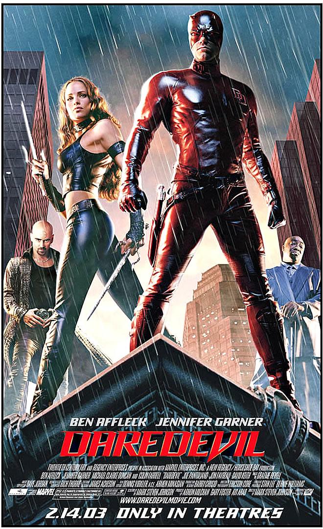Superhero Daredevil
