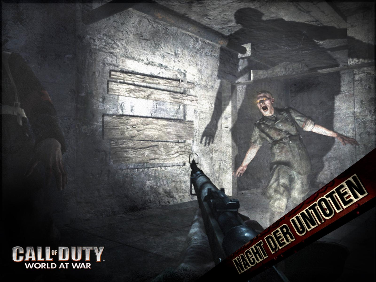 Attack By Flashlight Call Of Duty World At War Wallpaper