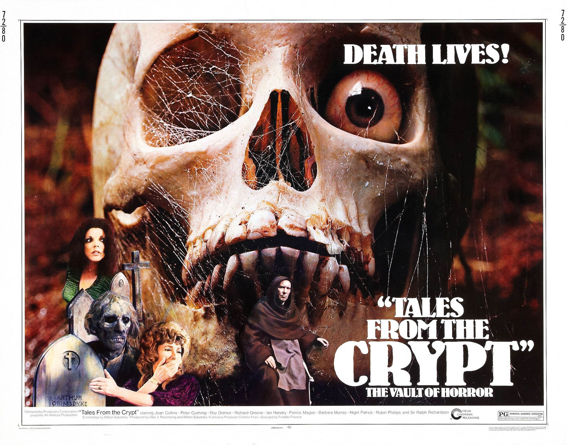 Tales From The Crypt Horror B Movie Posters